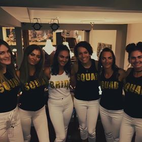 Bride Squad tops
