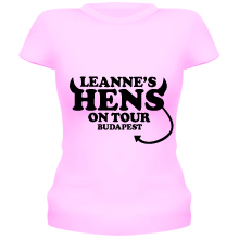 HENS ON TOUR (devil) T Shirt
