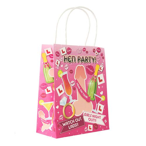 Willy Design Hen Night Gift Bag